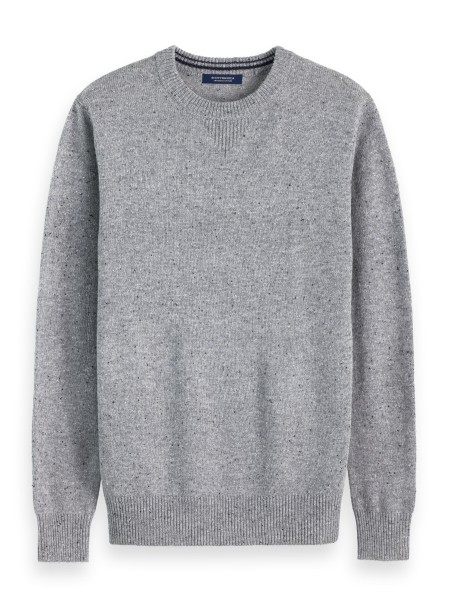 Pull Classic Wool-blend with neps