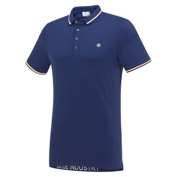 Blue Industry polo
